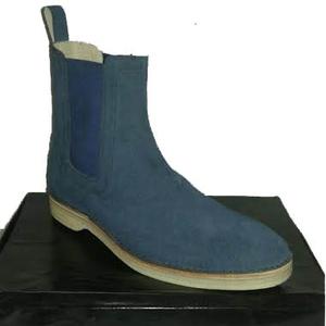 8da4c4c96 Pakistan Blue Suede Boots