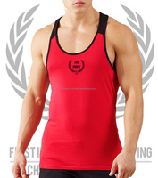 Stringer Vest/ Custom Gold Gym Singlets /Gym Stringer