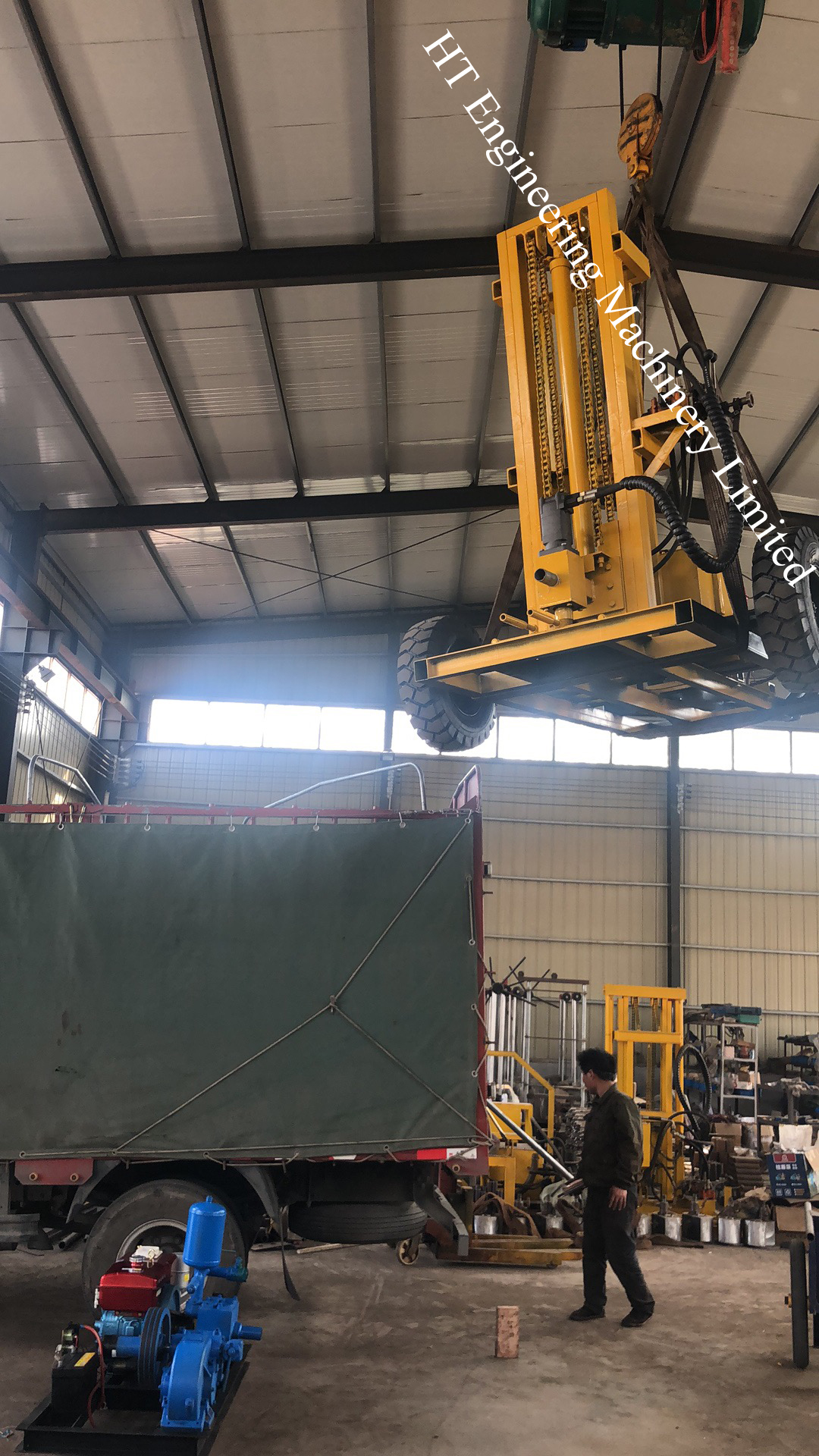 Strong Power HT-DH200 Hydraulic Rotary Drilling Rig