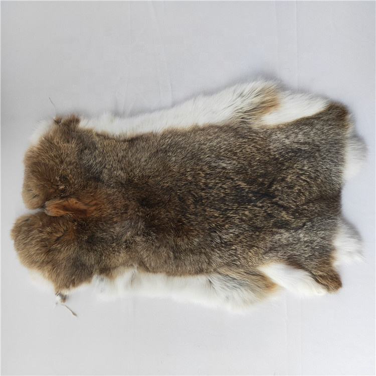 Dyed Rabbit Pelt Light Purple  Genuine Natural Leather Hide Fur Pelt
