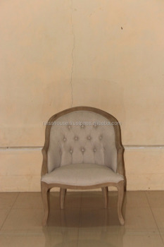 Indonesia Furniture-Bohemy Curved Back Chair-Jepara Furniture