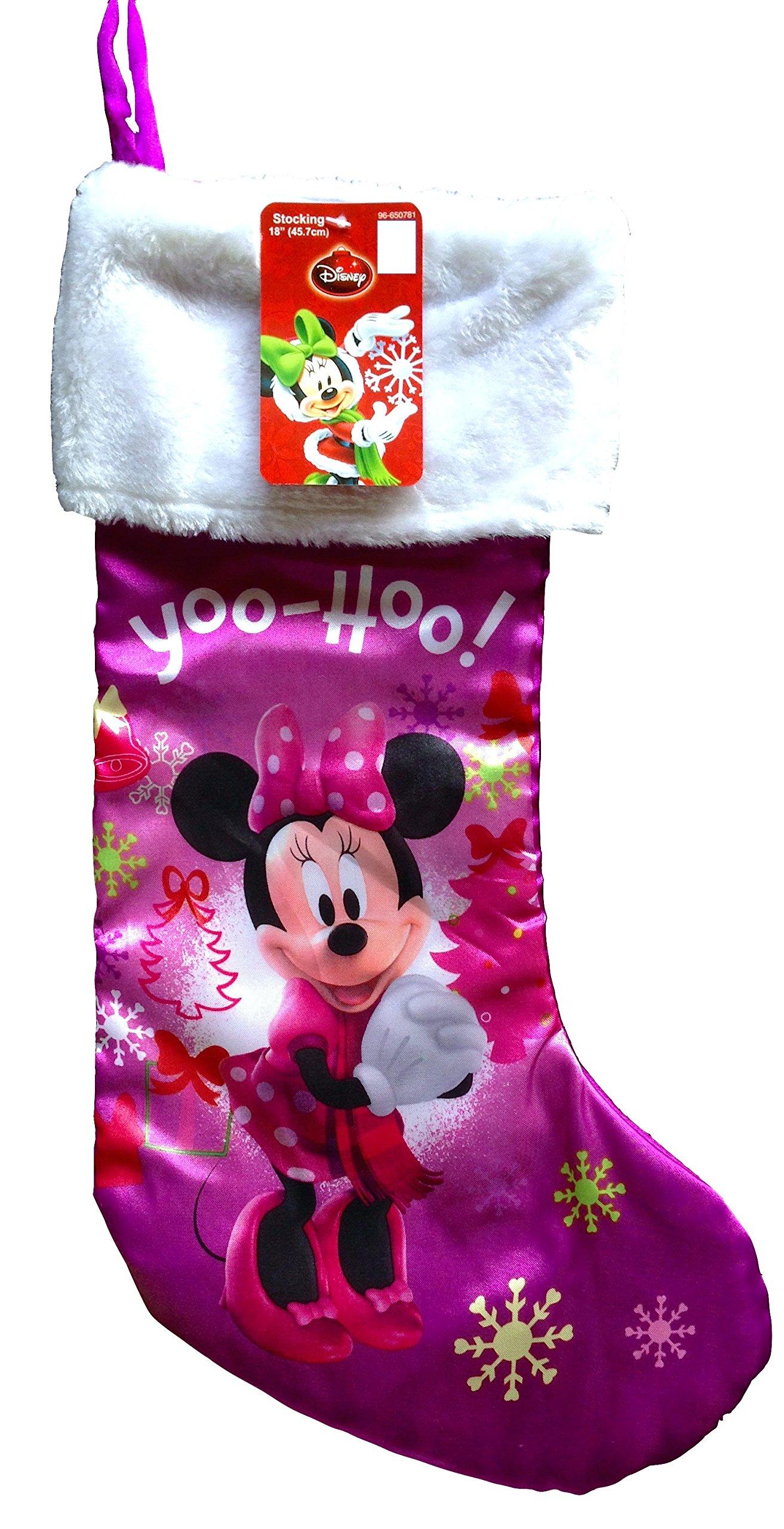 disney mickey mouse christmas stocking or minnie mouse christmas stocking babys first christmas stockings cute disney - Mickey Mouse Christmas Stocking