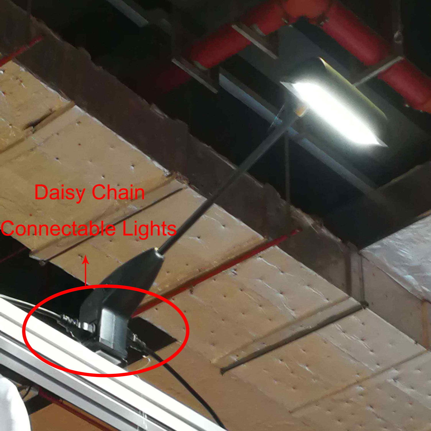 Cheap Price Daisy Chain 18W 1800Lm Black Cool White LED Exhibition Light
