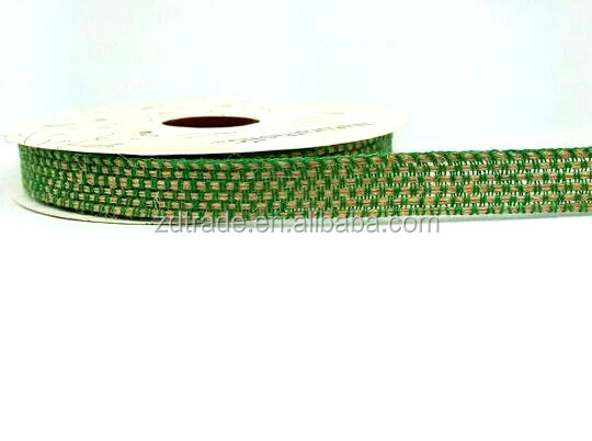 One Roll to SELL! 1.2CM Wide weaved Jute ribbon wrapping Terraium ribbon