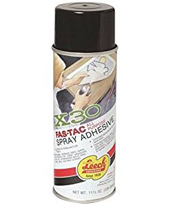 Leech X30 Fas-Tac All Purpose Spray Adhesive, 11.5 oz, Can