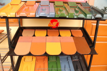 Vietnamese Wholesale Terracotta Roofing Tiles glazed and unglaze colored terracotta roof tile