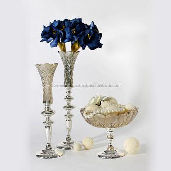 Christmas Santa Flower Vasesflower Vase Chandeliercrystal Bling