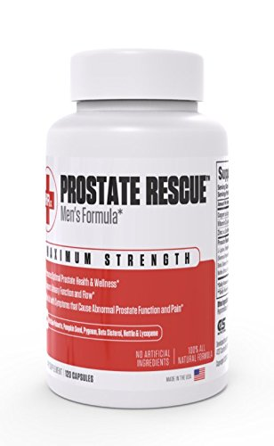 PROSTATE RESCUE – Prostate Support Supplement, Prostate Health, Promote Healthy Urination Frequency & Flow, Saw Palmetto, Vitamins & Minerals, DHT Blocker, Prostatitis Relief