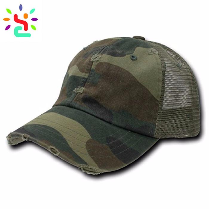 3531aebdb5a8b Camo trucker hat American flag hat 6 panel mesh baseball cap embroidery  patch trucker cap custom