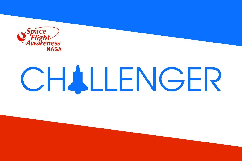 magFlags Large Flag NASA-ChallengerShuttleFlag | Space Shuttle Challenger | landscape flag | 1.35qm | 14.5sqft | 90x150cm | 3x5ft -- 100% Made in Germany -- long lasting outdoor flag