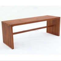 Garden Bench Teak Wood Indonesia Material Dining Room Set
