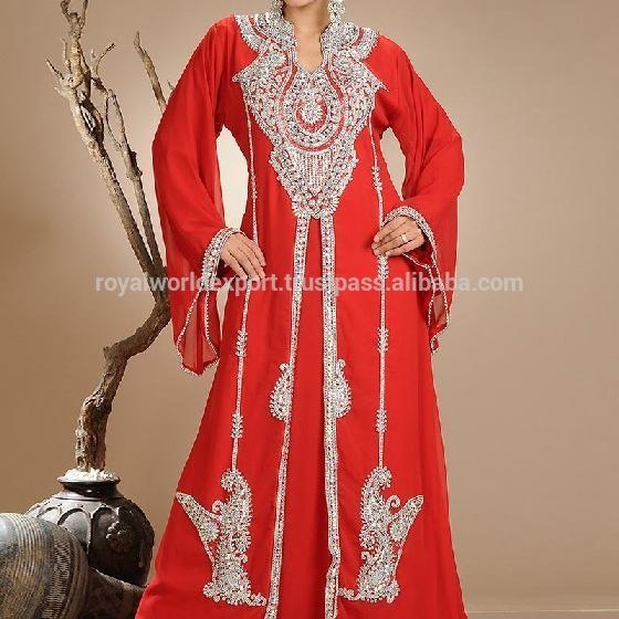 Moroccan Caftan  Abaya Maxi Dress Handmade New Collection  muslim kaftan Dress