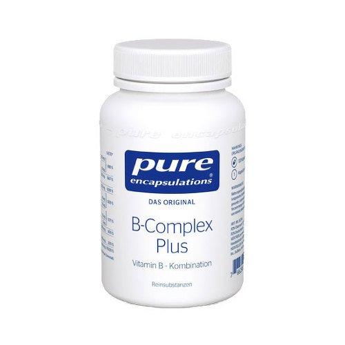 Pure Encapsulations - B-Complex Plus - Hypoallergenic B Vitamin Formula - 120 Capsules