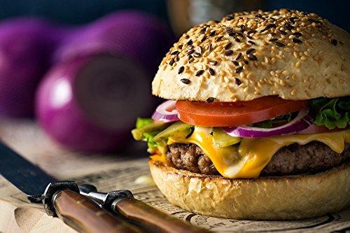 22 Half Pound Gourmet Juicy Steak Burgers - Chicago Steak Company - PS2