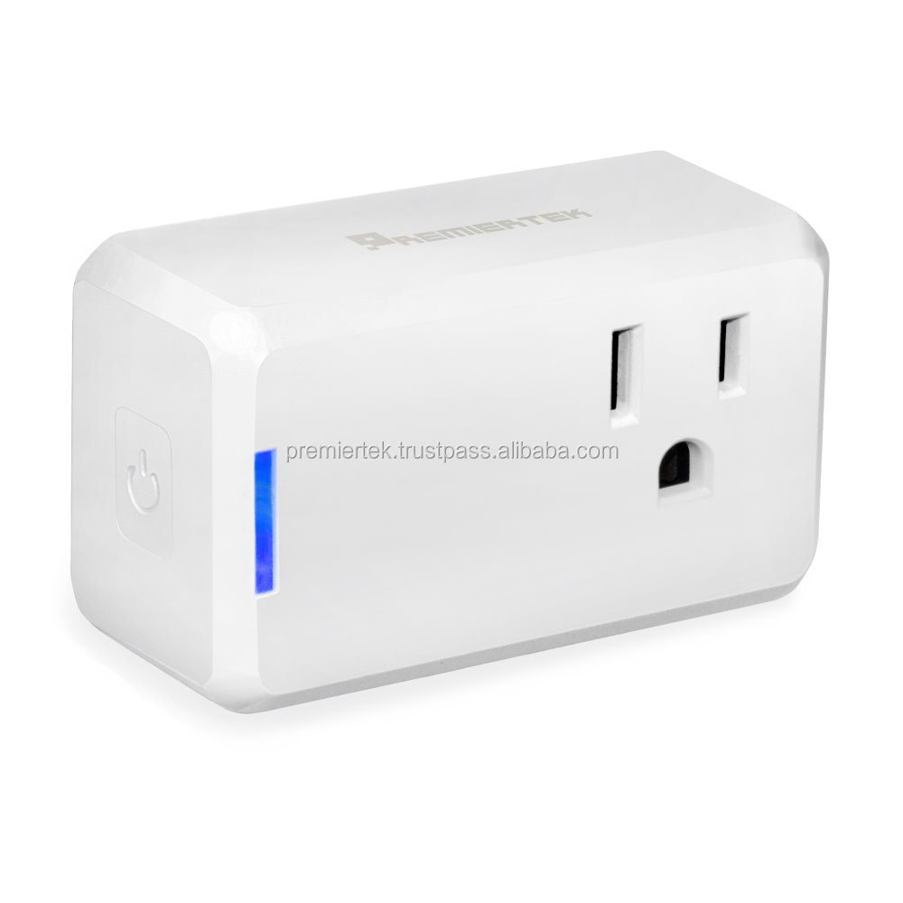 Smart Wi-Fi Plug mini for Apple iPhone/Android Phones. Works with Amazon Alexa