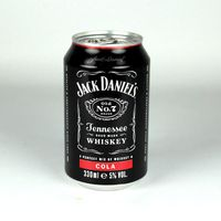 JACK DANIELS & COLA 330ml CANS