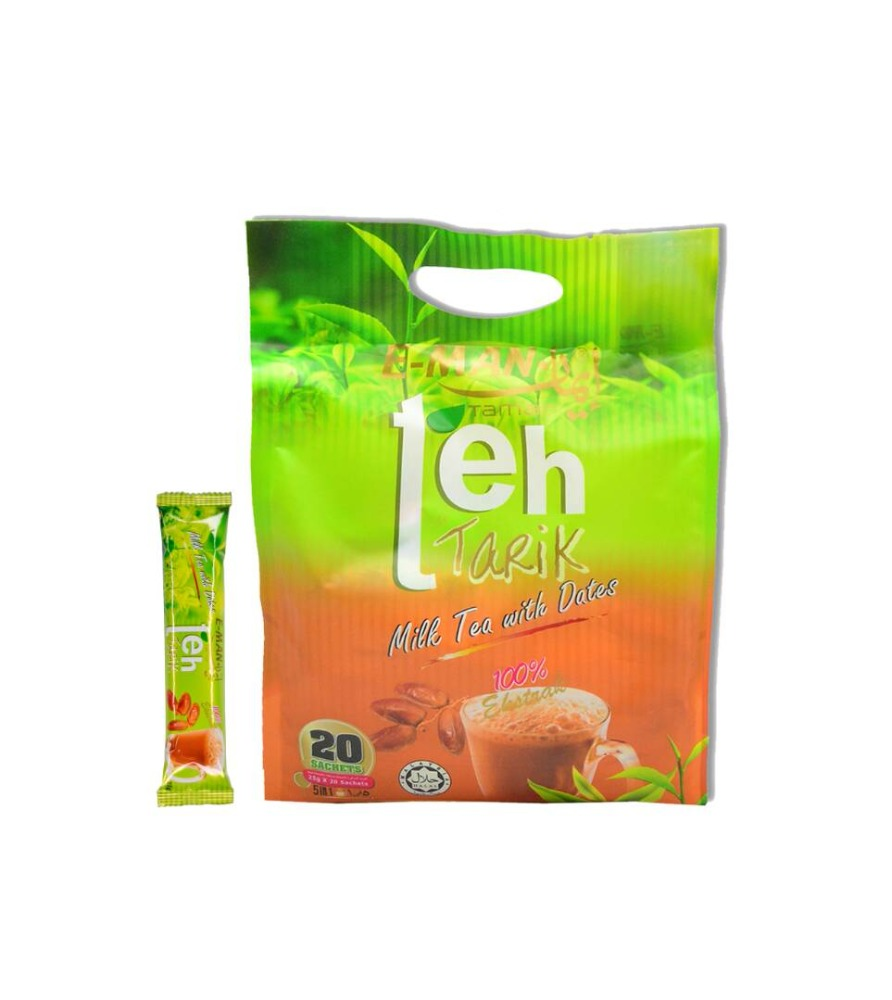 Premium High Quality Instant Milk Tea Drink with Dates Teh Tarik from Malaysia