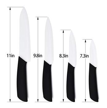 6 White Blade Zirconium Dioxide Ceramic Chef Knife Crofton Ceramic Knife Knife Ceramic Cutter W Abs With Tpr Coating Handle Buy Crofton Ceramic Knife Knife Ceramic Cutter Red Ceramic Knife Sets Product On Alibaba Com