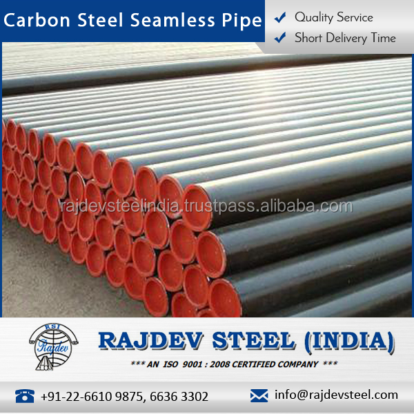 Iso Certified Carbon Steel Seamless Pipes For FabricationConstruction Industry - Buy Carbon Steel PipeSeamless Carbon Steel PipeCarbon Steel Seamless ... & Iso Certified Carbon Steel Seamless Pipes For Fabrication ...