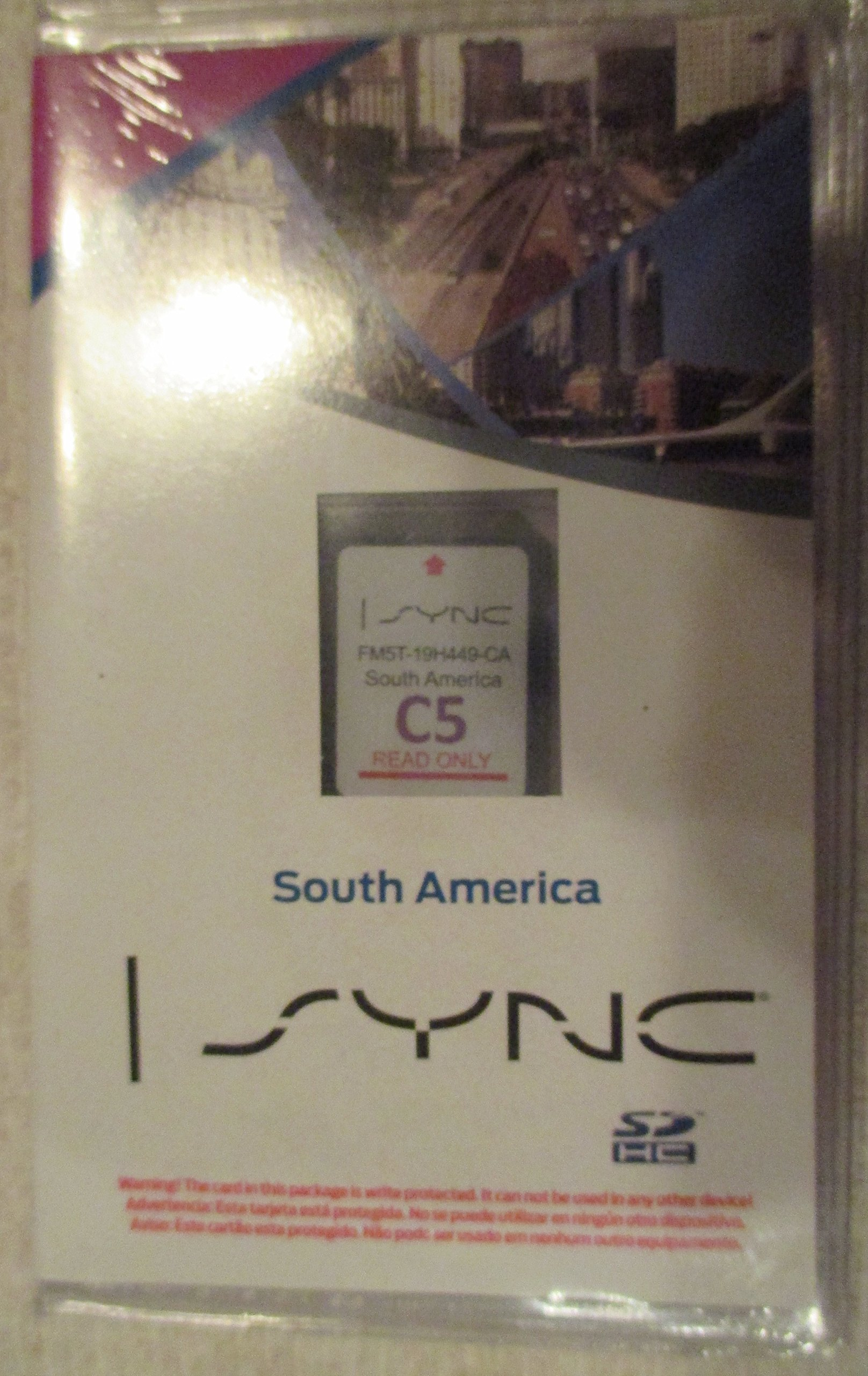 C South America Ford Lincoln Navigation Sd Card Map Chipsync Myford Touch Fits