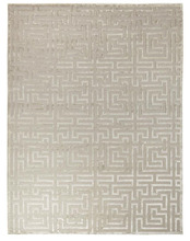 wholesale Modern New Design bamboo silk Hand knotted Carpets and Rugs