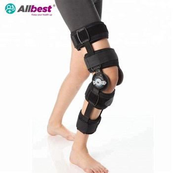 Telescoping hinge Post OP  Knee Brace