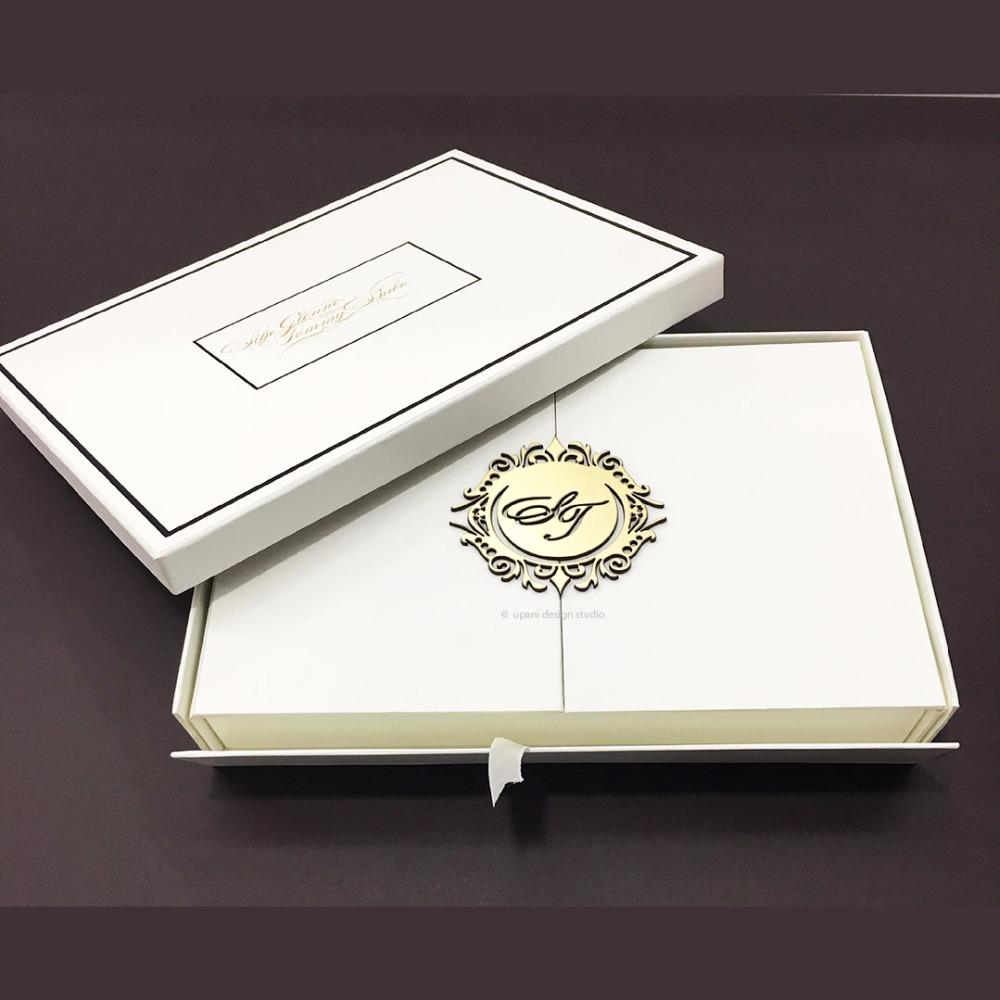 White Wedding Invitation Box - Buy Luxury Wedding Invitation Box ...