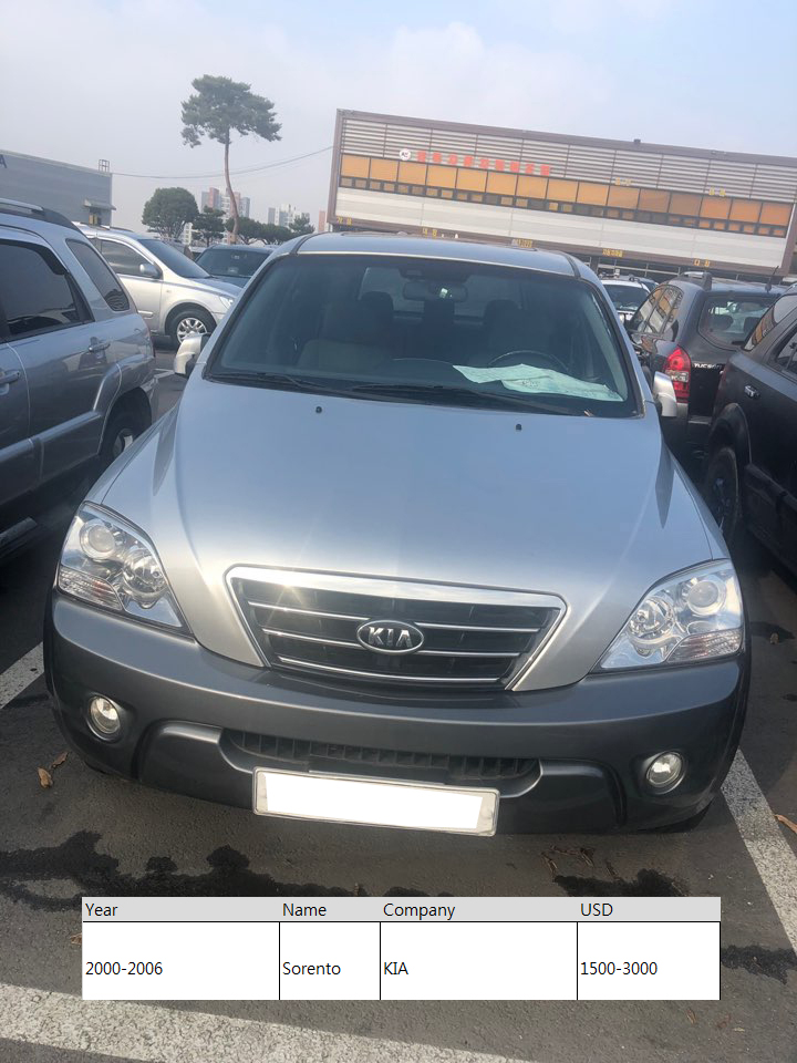 Used cars Morning HYUNDAI  KIA DAEWOO SAMSUNG from Korea
