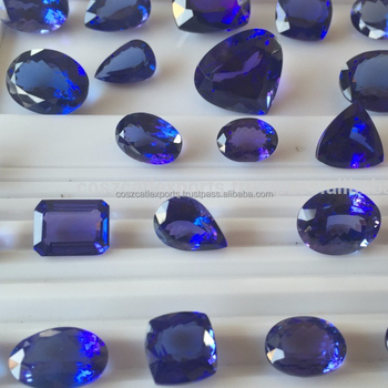 Tanzanite cut tone Mixed shape polished Gemstone