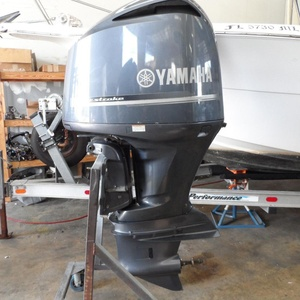 FREE DROP SHIPPING FOR Used Yamaha 70HP 4-Stroke Outboard Motor Engine