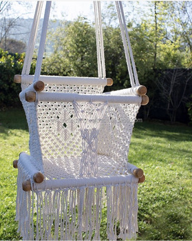 interior grande design swing macrame mint products white hanging chair natural