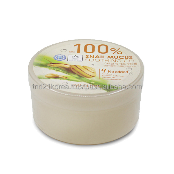 3 w clinic 100% Snail Soothing gel