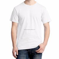 100% Super Soft White Cotton Carded 30s Blank T Shirt/ Plain T Shirt for Men / Women
