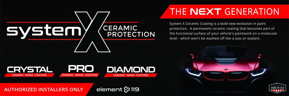سیستم X کریستال سرامیکی نانو پوشش