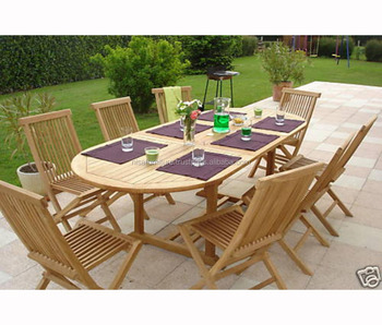 Teak Wood Indonesia 8 Folding Dining Chairs And Table Set Outdoor Garden Furniture Otherhomefurniture Buy Otherhomefurniture Outdoor Furniture Outdoor Folding Chair Product On Alibaba Com