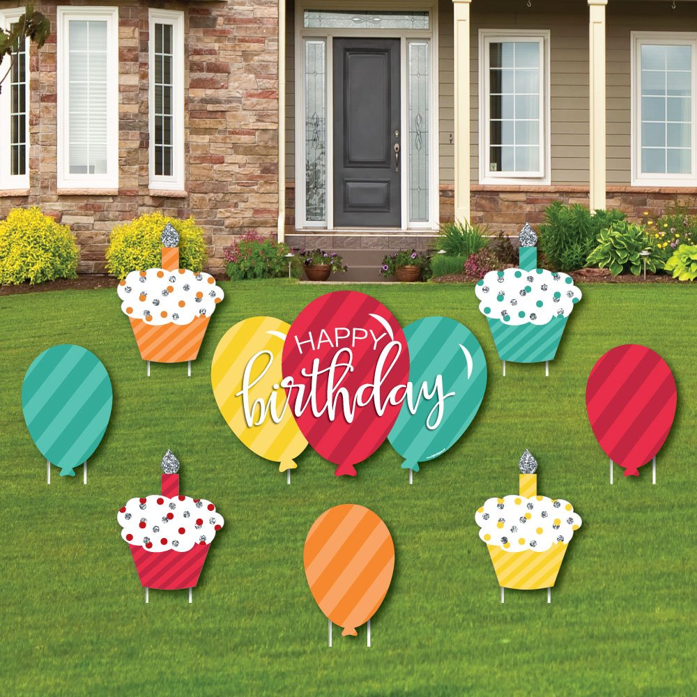 Get Quotations Colorful Happy Birthday