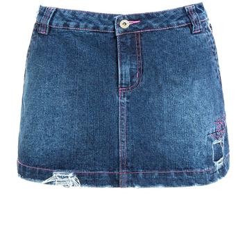 Mini Denim Falda de las mujeres pantalones vaqueros de las señoras faldas  cortas 2018 229717ee4391