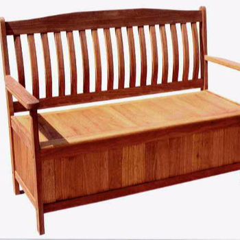 Cushion Bench Outdoor Storage