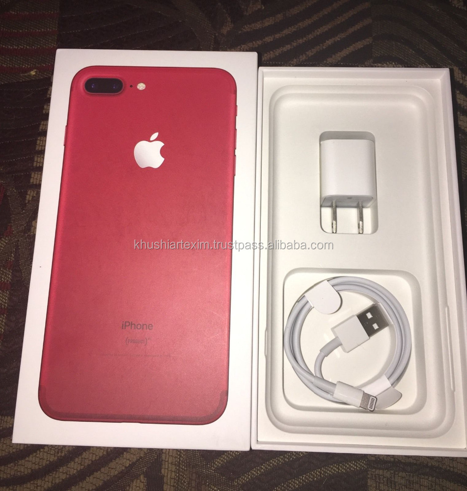 Wholesale Newest Released for Apple original RED phone unlocked Phone 7 & 7 Plus 32GB 128GB 256GB - Jet Black