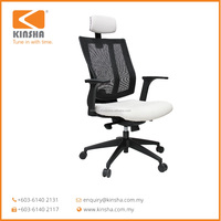 Maxi - Stylish Mesh Meeting Room Chair with Back Support Malaysia
