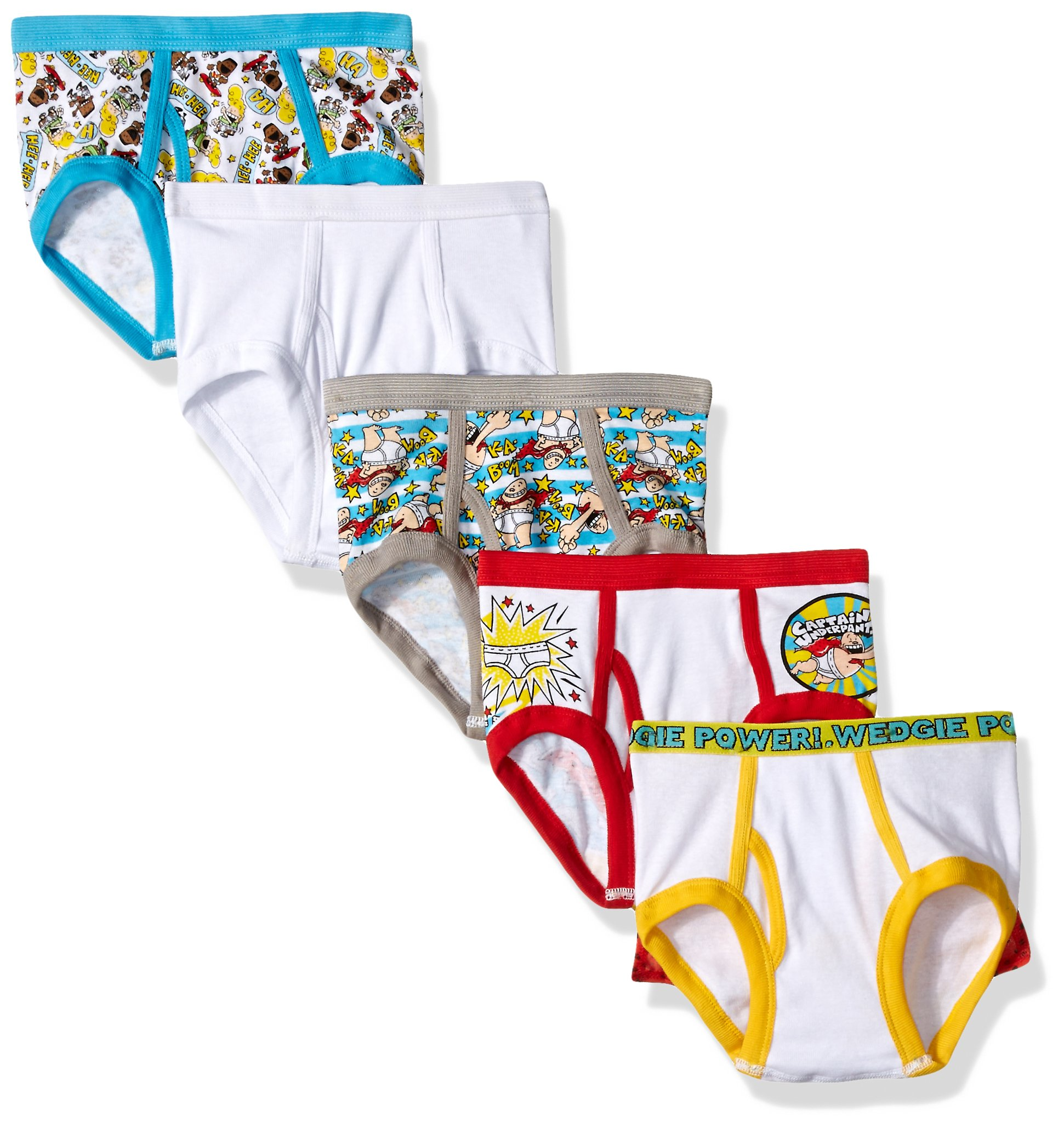 d36b28454df Coodebear Little Baby Girls Boys Minnie Five-Pack of Brief Underwear  Underpants Training Pants Baby Girls