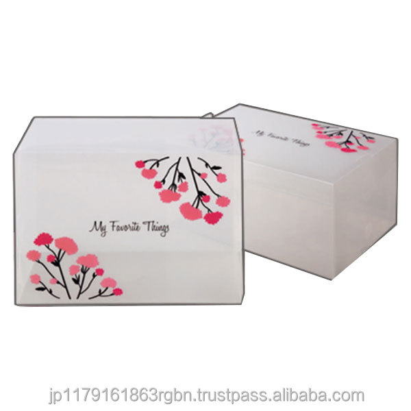 Cost-effective and Best-selling hat storage boxes with flower design created by Japan