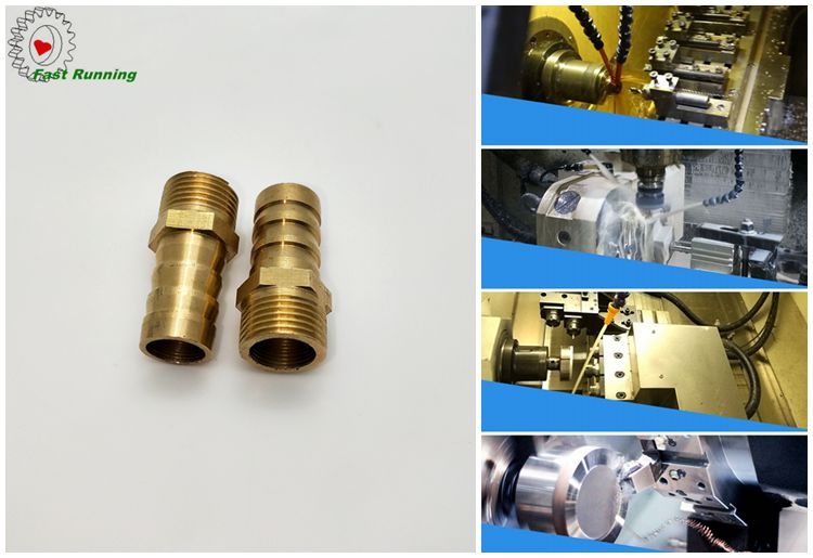 custom cheap CNC turning milling sintered copper universal exhaust pipe valve silence muffler