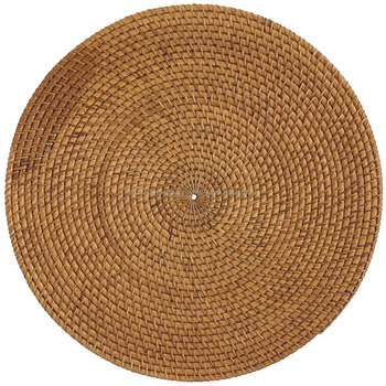 High grade quality rattan round placemat