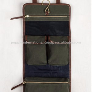 CANAVS TOILETRY ROLLUP TRAVEL BAG