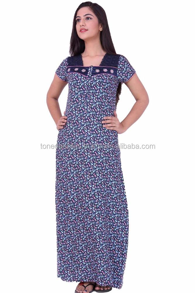 Indian nighty dress image