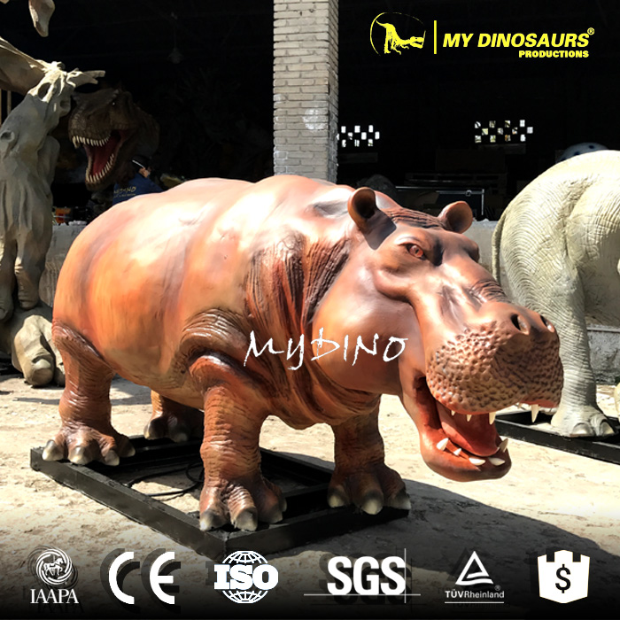 MY Dino AA-45 Water Park Artifical Animal Hippo Statue
