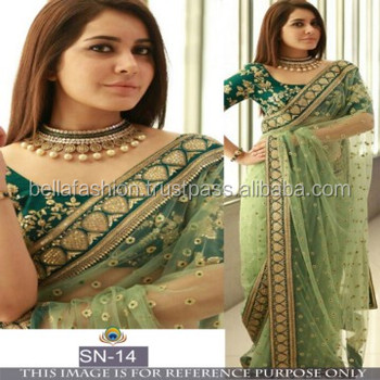 713711c179 Latest Modern Bollywood Heavy Blouse Designer Wedding and Party Wear Bridal  Sarees
