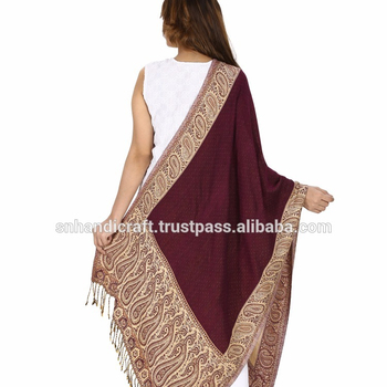 adc1c5d81a indian ethnic women shawl embroidered indian pure wool shawls hand embroidered  kashmir shawl