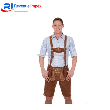 Traditional German bavarian clothing